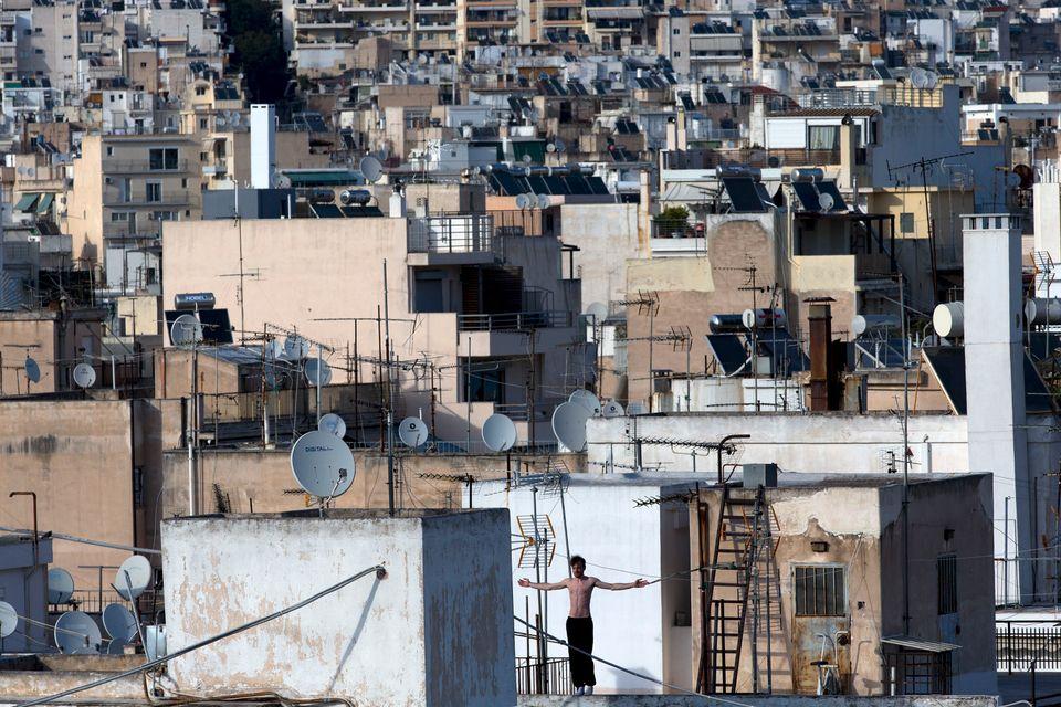 Αθήνα. (Xinhua/Marios Lolos via Getty