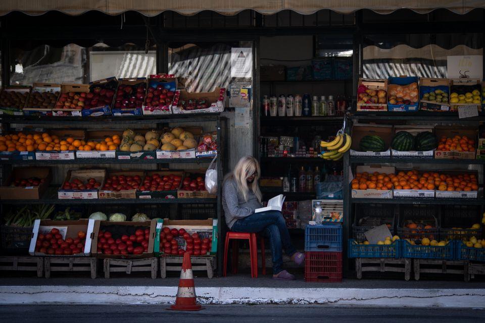 Αθήνα. (Photo by Maria Chourdari/NurPhoto via Getty