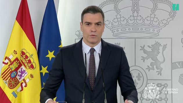 Le Premier ministre espagnol Pedro Sanchez a annoncé la prolongation du confinement jusqu'au 9...