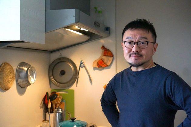 フードライターの白央篤司さん(2020年2月撮影)