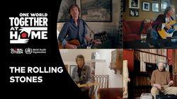 Οι Rolling Stones τραγούδησαν στο «One World: Together at Home» και