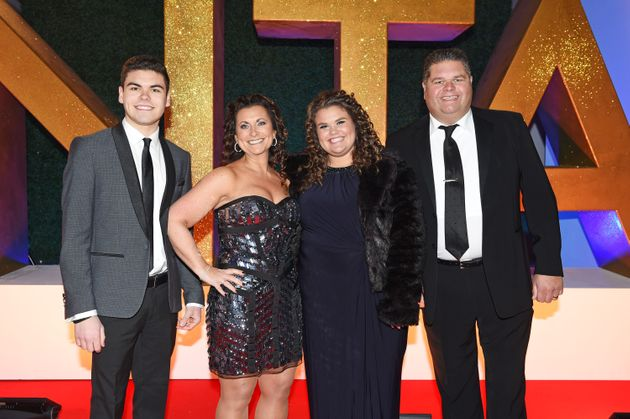 The Tapper Family at the NTAs in