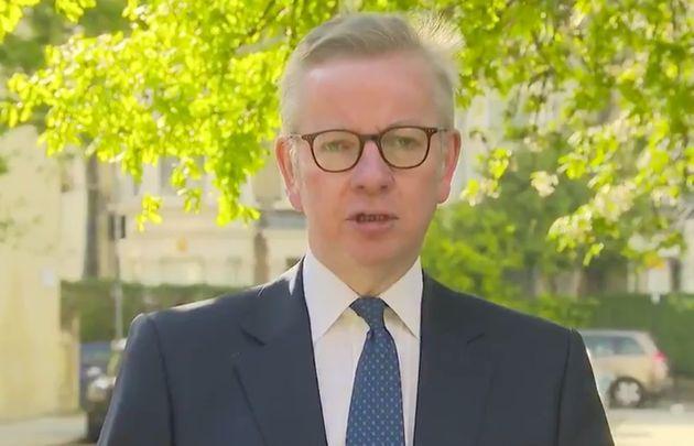 Michael Gove Says Criticism Of Boris Johnson's Coronavirus Response 'Slightly Off
