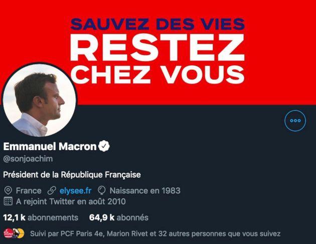 Le compte Twitter de Son-Forget transformé en celui de Macron, le député parle d'un