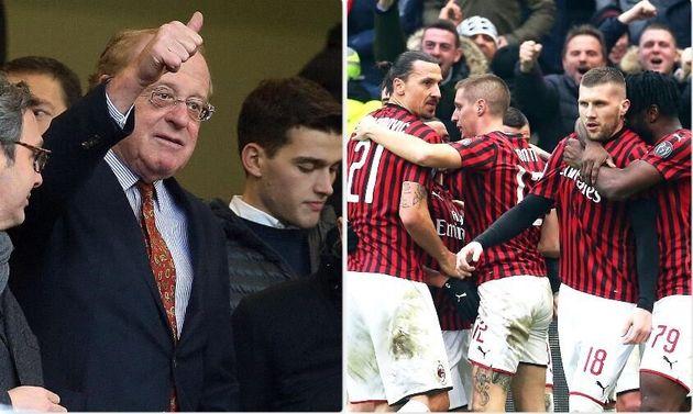 Paolo Scaroni - alcuni giocatori del