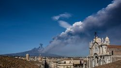 El volcán Etna entra en