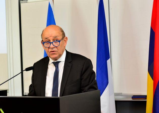 Jean-Yves Le Drian, ministre des Affaires