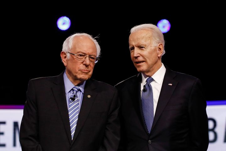 Sen. Bernie Sanders (I-Vt.) and former Vice President Joe Biden are working together on joint task forces.