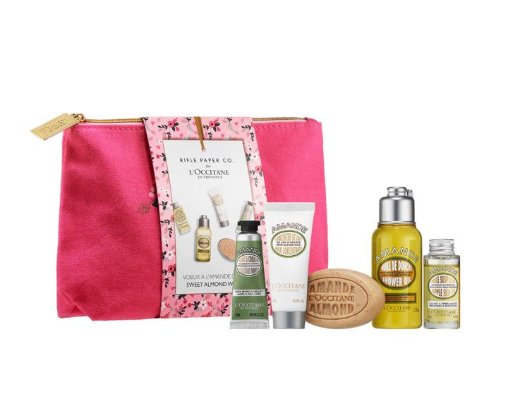 Rifle Paper Co. Almond Discovery Kit by L'Occitane