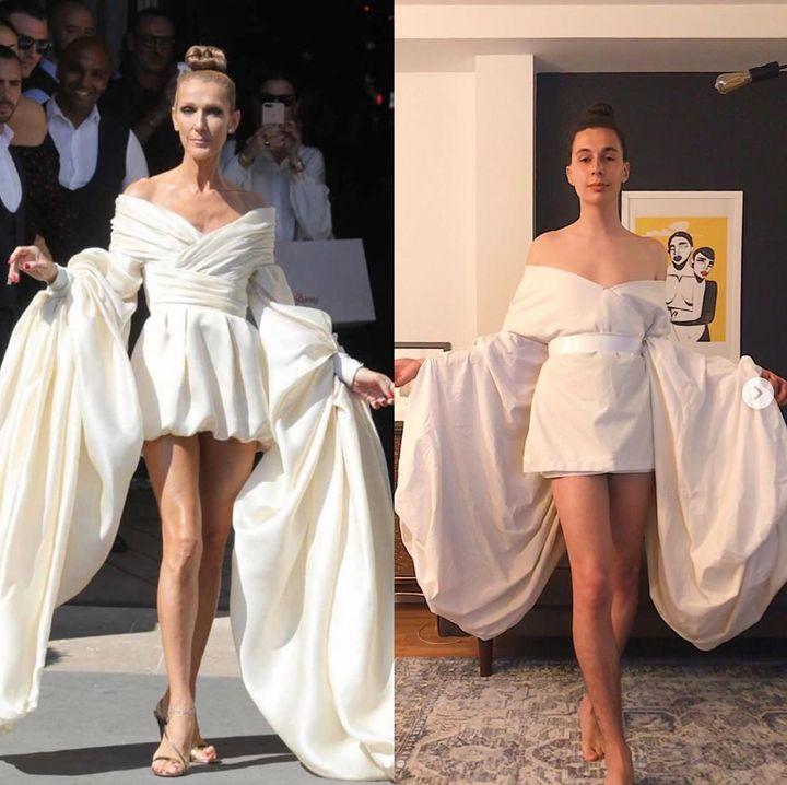 Ce Quebecois Recree Les Robes De Celine Dion Huffpost Quebec Vivre