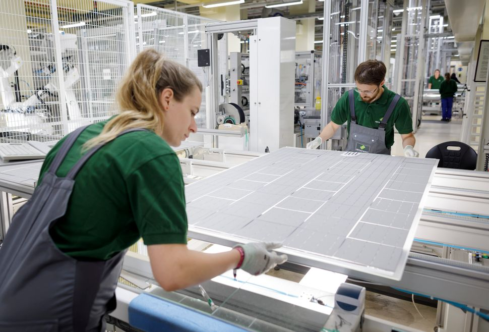 The percentage of solar energy firms with a strategy to increase the representation of women tripled between 2017 and 2019, a