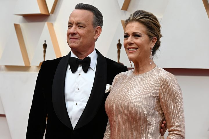 Actors Tom Hanks and Rita Wilson were some of the first celebrities to publicly state their positive diagnosis of COVID-19.