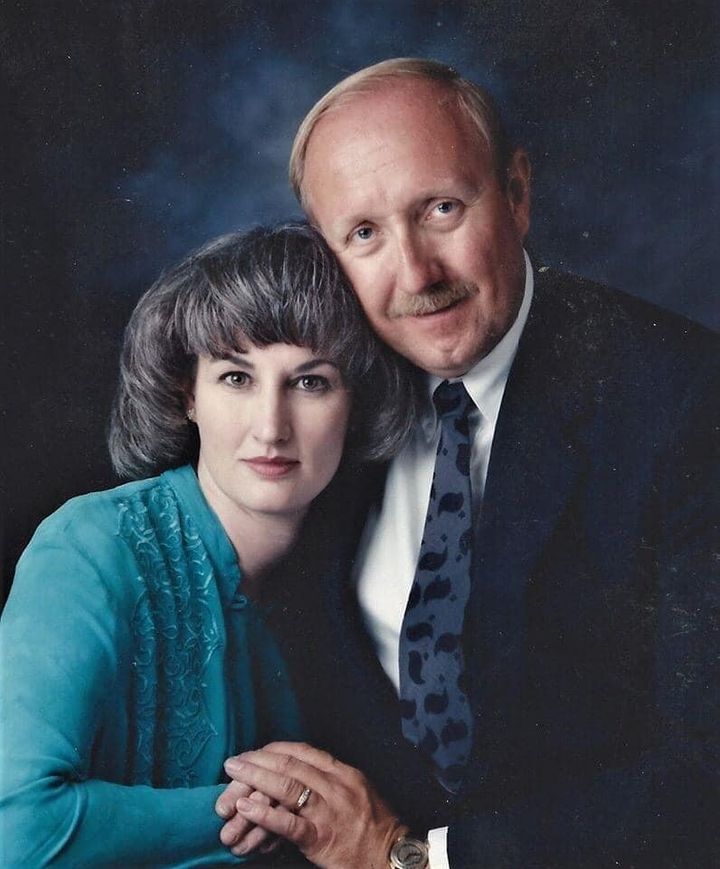 Joanne and John Zahl are seen in an undated photo.
