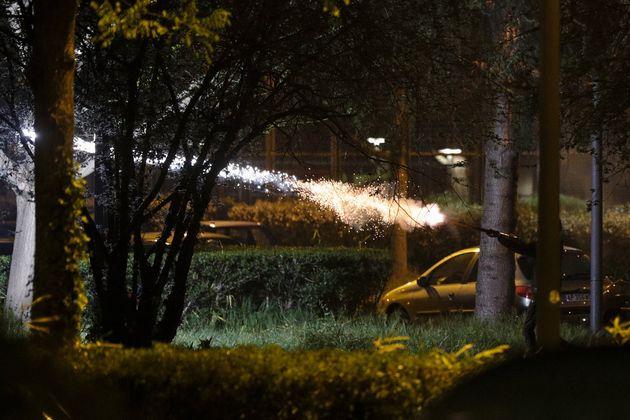 À Villeneuve-la-Garenne, la police visée par des feux