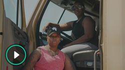 仕事を辞めて、旅に出た。トラック運転手のリアルを発信するレズビアンカップル
