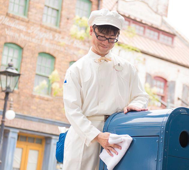 東京ディズニーリゾートで働く従業員のイメージ