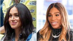 Serena Williams Dodges Question About Close Friend Meghan Markle Like A Total