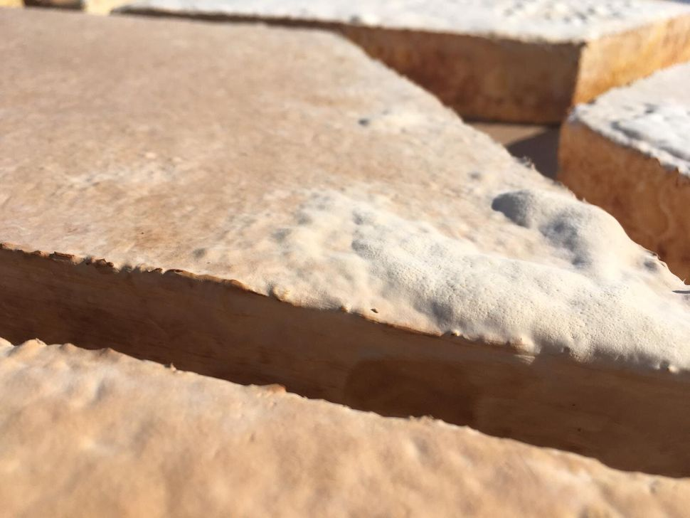 Myceliuminsulation panels made by Biohm.