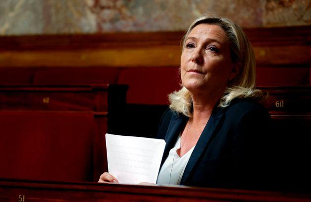 La députée d'extrême droite reproche au gouvernement et en particulier à la...