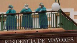 Madrid admite que sus residencias no estaban