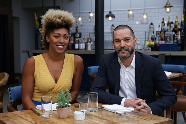 Dr Zoe Williams and Fred Sirieix in The Restaurant That Burns