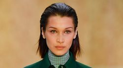 Bella Hadid Just Gave Herself Some New Quarantine Bangs. See For
