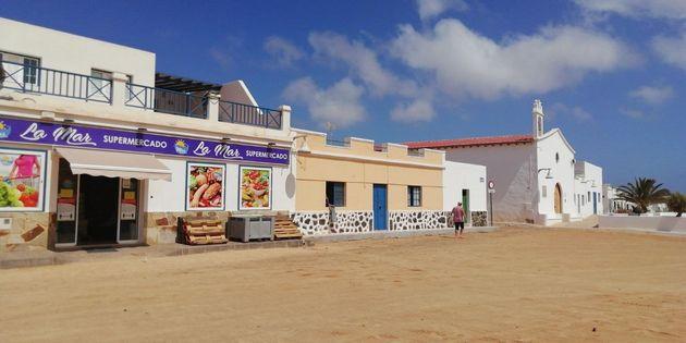 Supermercado en Caleta del Sebo, en La