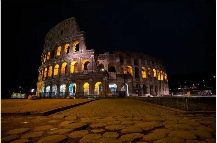 Φωτογραφία από το Κολοσσαίο της Ρώμης.
