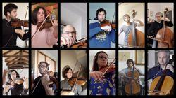 Así suena Mozart interpretado en línea por una orquesta