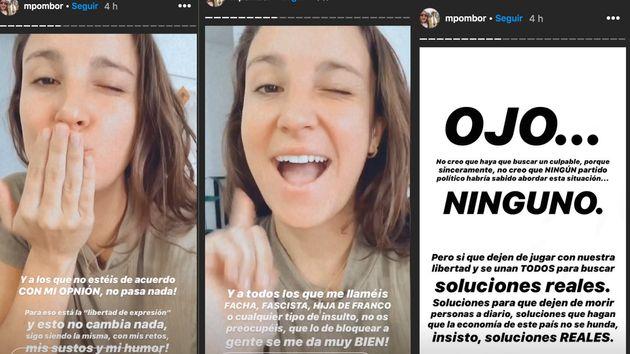 Críticas a la 'influencer' Marta Pombo por su comentario sobre este partido
