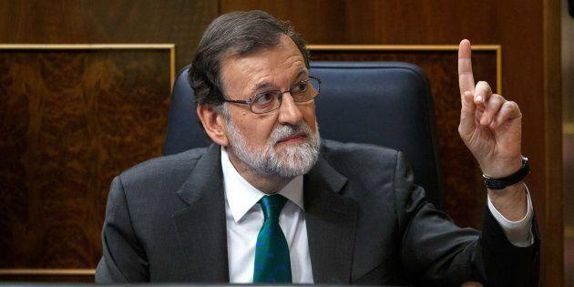Mariano Rajoy en el