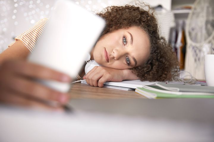 Teenagers may be having a hard time coping with COVID-19 stress.
