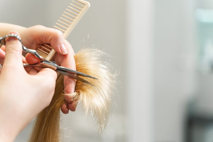 Color-treated hair is particularly susceptible to split ends and should be trimmed every two months to maintain optimal health.