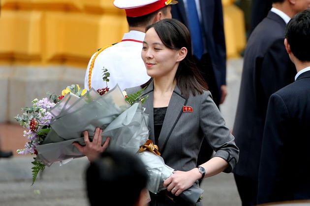 Kim's sister, Kim Yo Jong, is his most public-facing relative.