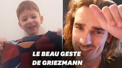 Antoine Griezmann ne pouvait que répondre à cette adorable vidéo de Pablo, 4