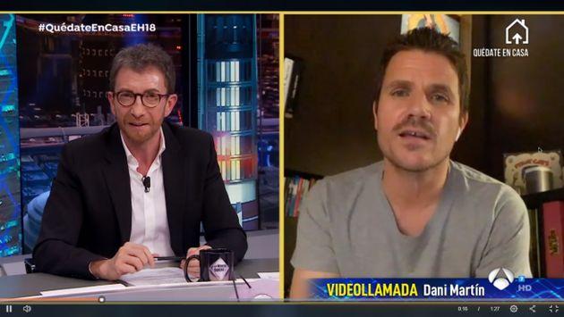 Dani Martín revela en 'El Hormiguero' el problema de salud que sufre y que le ha hecho perder
