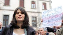 La diputada de Podemos Isa Serra, condenada a 19 meses de cárcel, multa e