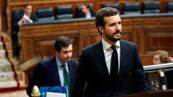 Pablo Casado se contradice en un minuto: pide no hacer referencias bélicas y compara los muertos con