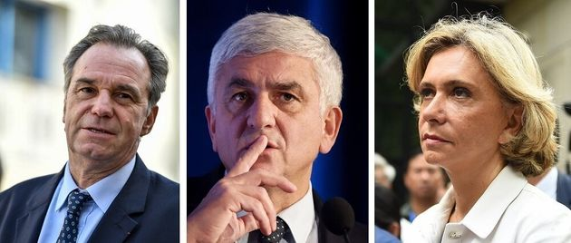 Renaud Muselier, Hervé Morin et Valérie Pécresse, présidents de