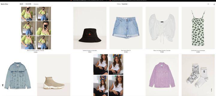 La colección 'Homewear' de Bershka.