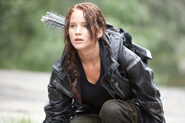 Jennifer Lawrence dans Hunger