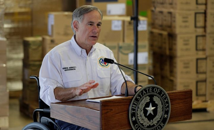 Texas Gov. Greg Abbott (R) is one of the politicians who have tried to ban abortions during the coronavirus crisis.