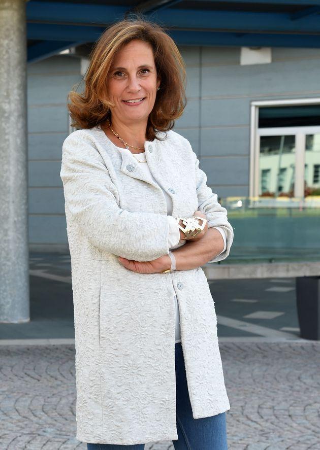 MILAN, ITALY - MARCH 28: Ilaria Capua attends a 'Io, Trafficante Di Virus. Una Storia Di Scienza E Di...