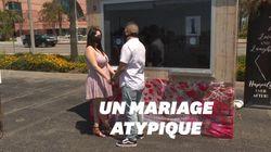 En Californie, on peut à nouveau se marier... derrière une vitre et en