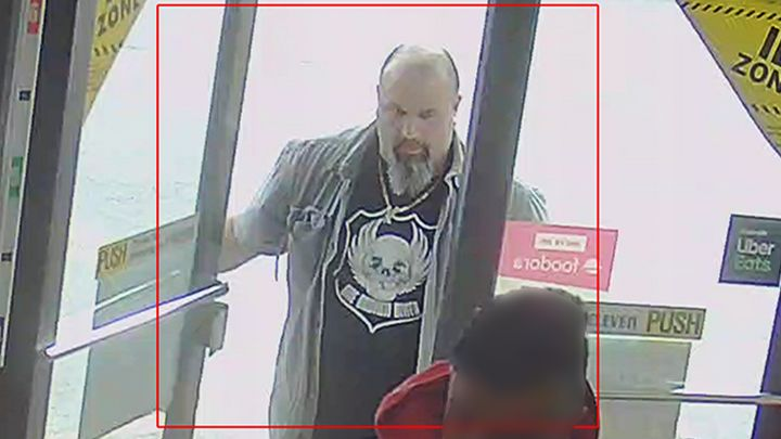 Vancouver police released this image of a suspect in an attack on a 92-year-old Asian man with dementia.