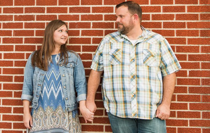 Kristy and Brandon Callaway have had to delay fertility treatments due to the coronavirus pandemic.