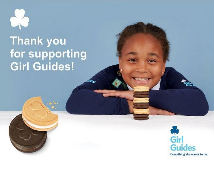 Because Girl Guides can't go door to door, several retail chains around the country are stocking their cookies in store.