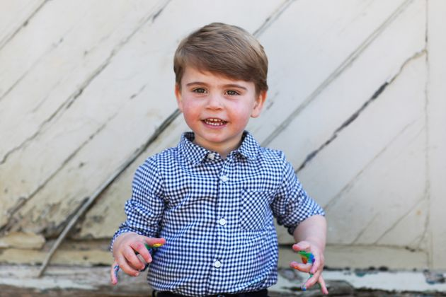 Prince Louis Hams It Up In Truly Adorable 2nd Birthday