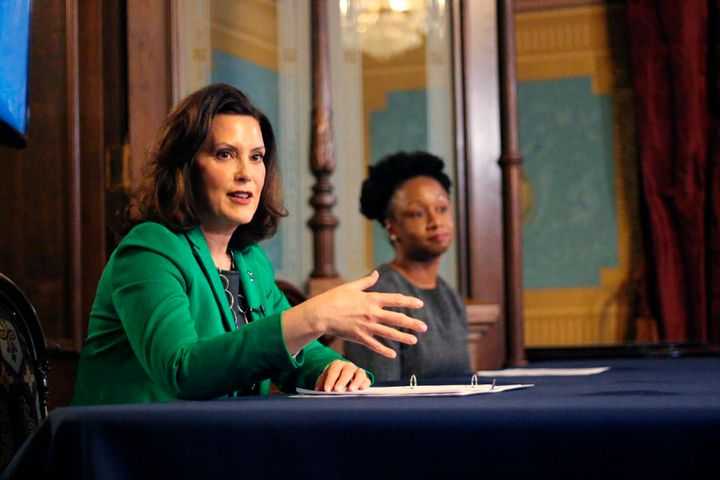Whitmer has stood by her aggressive restrictions on activity, saying they were necessary to save lives.