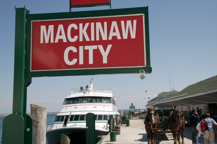 Mackinaw City depends on tourist dollars, but the executive director of its Chamber of Commerce told the Detroit Free Press t